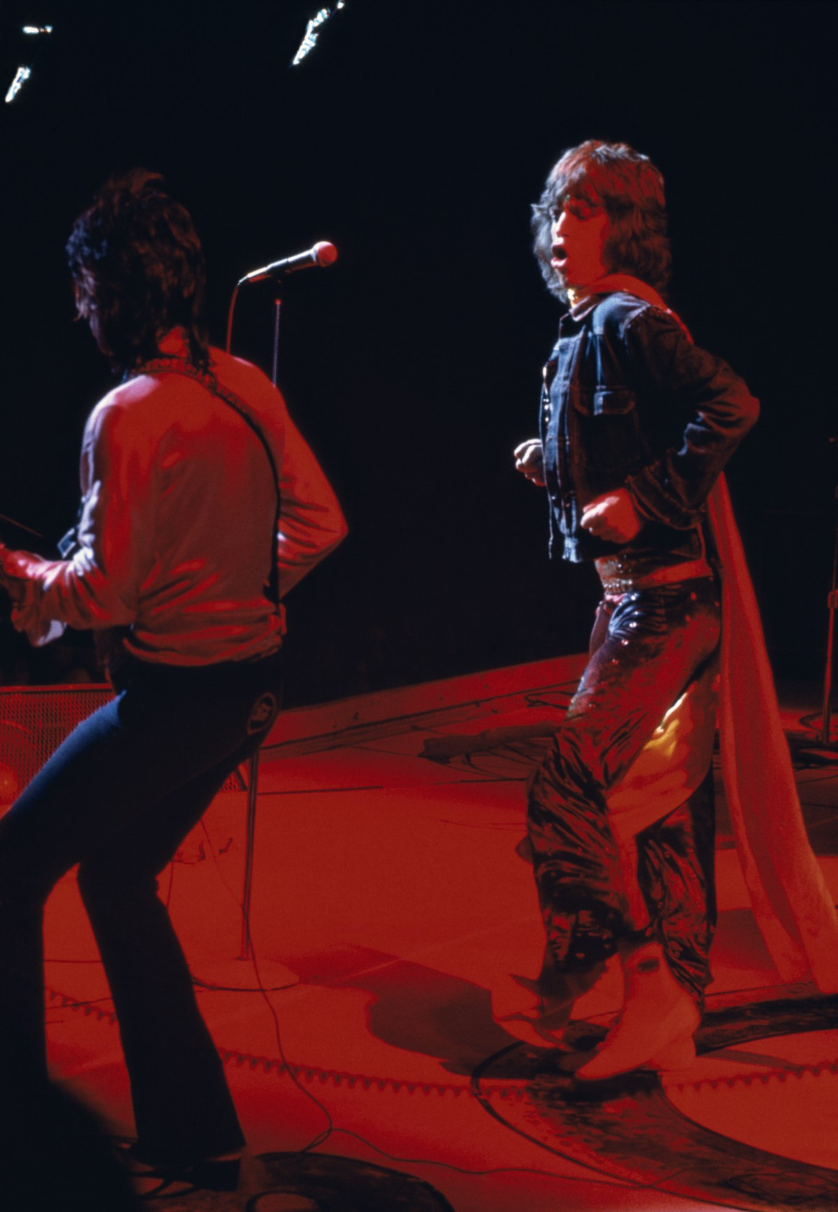Mick Jagger and Keith Richards, USA, June 1972 - Galerie XII